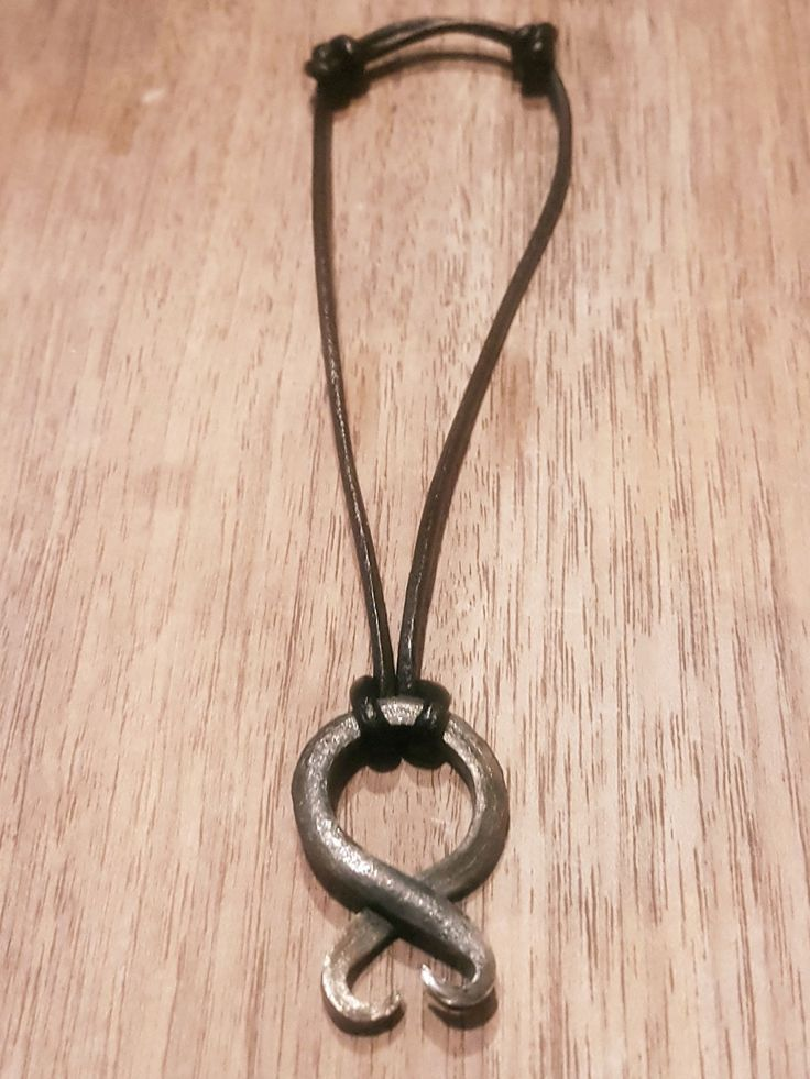Viking Järn Armband/Necklace via Yggdrasil Jewellery. Click on the image to see more!