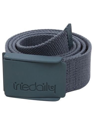 Stainless Rubber Belt [anthracite] // #iriedaily // www.iriedaily.de