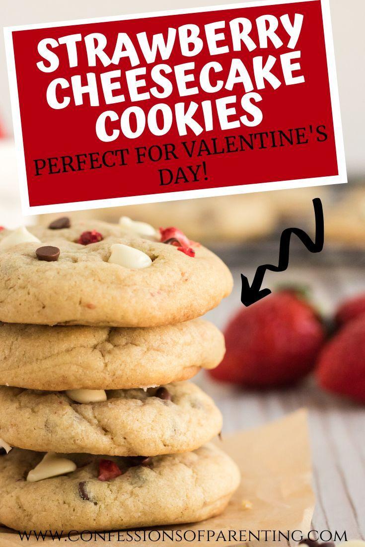 The Best Strawberry Cheesecake Cookies Recipe In 2020 Dessert