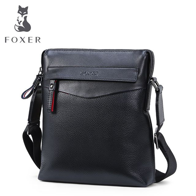 Buy now FOXER Famous Brands Men Genuine Leather Bussiness Bags Metrosexual man Shoulder Bag Casual Crossbody Bag For Men just only $47.93 with free shipping worldwide  #crossbodybagsformen Plese click on picture to see our special price for you