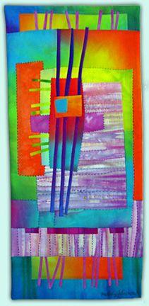 Melody Johnson: Art Quilts - Urban Landscapes