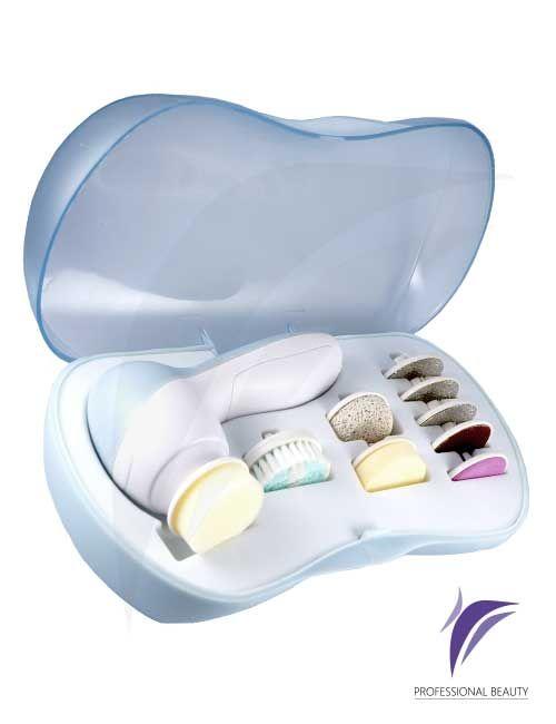 Kit Limpieza Facial, Manos y Pies: Kit de Cepillos para limpieza facial, manos y pies.