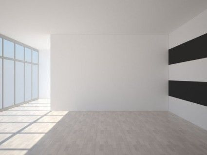 3d empty room 04 hd picture