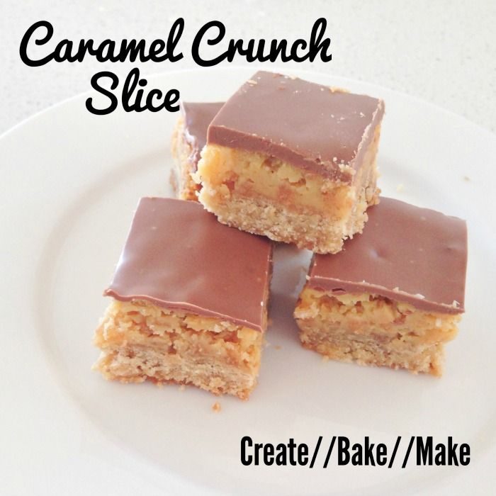 Caramel Crunch Slice