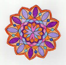57.ROTACIÓN  Decimos que una figura plana tiene simetría rotacional cuando podemos encontrar un centro (llamado centro de rotación) de manera que si giramos la figura completa un cierto ángulo (mayor o igual a 0º y menor que 360º), la figura rotada coincide con la figura original