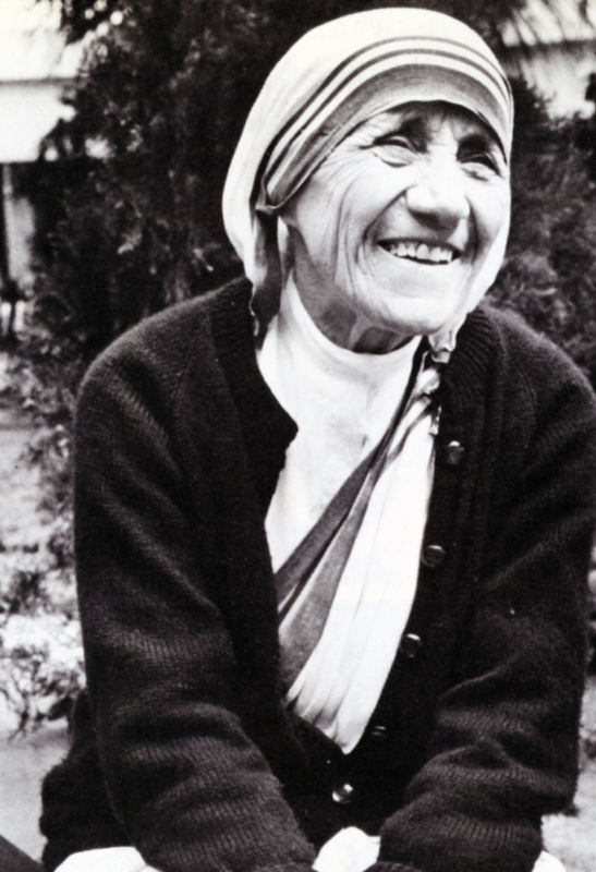 The smile of an angel.... Mother Teresa