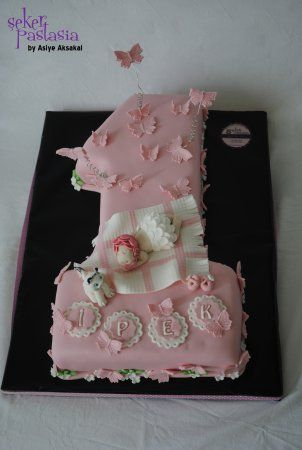 İpek 1 yaş Pasta