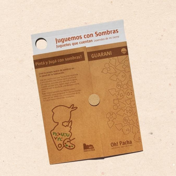 Kit para pintar guaranÍ - juguetes sustentables   Feria Central