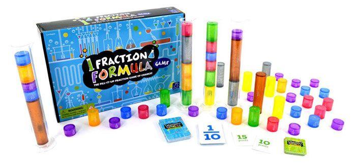 Fraction Formula Game