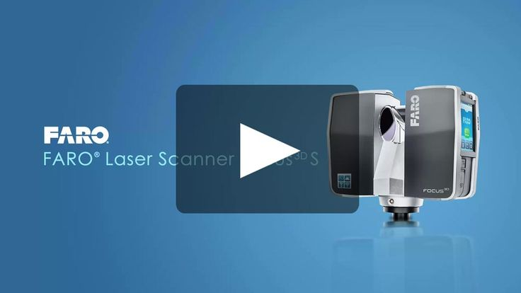 3D Laser Scanner FARO Focus3D - 3D Surveying - Overview