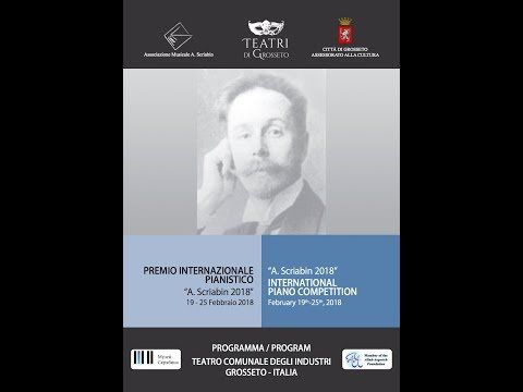 "INTERNATIONAL PIANO COMPETITION ""A.SCRIABIN 2018"" - YouTube"
