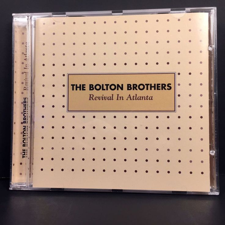 The Bolton Brothers Revival In Atlanta 2001 Blackberry Records CD Gospel #GospelChristian