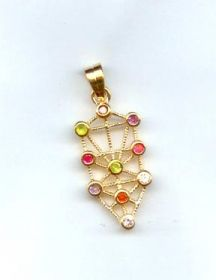 Gold Filled Tree of Life Pendant