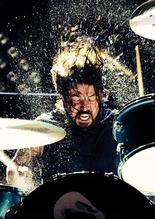 possibly the coolest photo ever taken of the man, the myth, the legend.... Dave Grohl- foo fighters