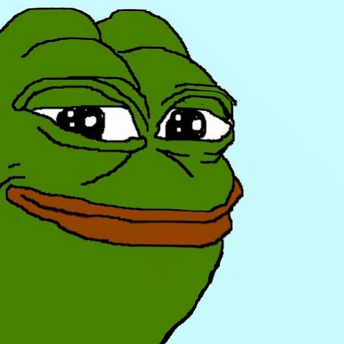"""Funny story about Pepe, I was in the library with my friends during lunch, so my friend came up with a plan, she used memes. She drew Pepe first and she wrote down """"Pepe"""", and having crappy eye sight.... I thought it said """"Pope Pepe"""" and we all died if laughter"""