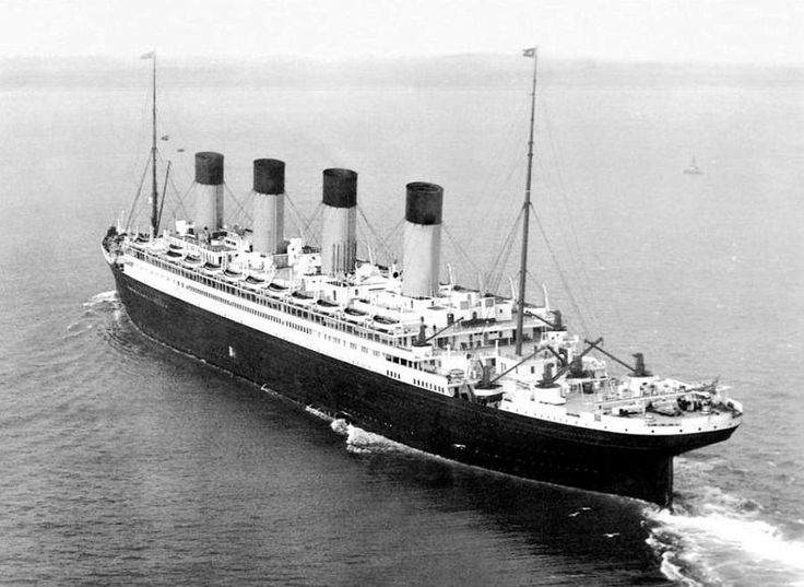 Olympic, sister ship of Titanic and Britannic
