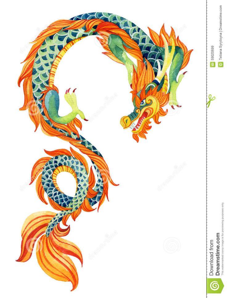 китайский дракон - Скачивайте Из Более Чем 58 Миллионов Стоковых Фото, Изображений и Иллюстраций высокого качества. изображение: 59020699