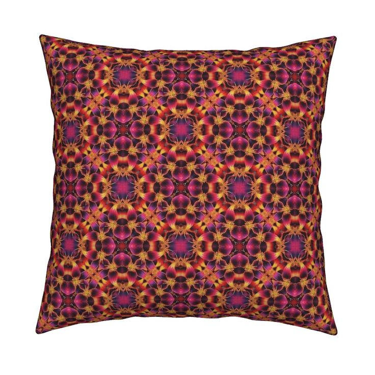 Lilly Love 1 Pink Purple on Catalan by karwilbedesigns | Roostery Home Decor