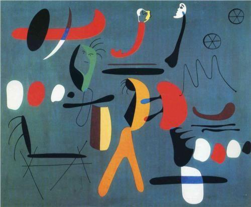 Joan Miro/1933/  Abstract Art/ Painting - Joan Miro