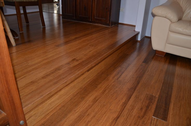 Solid 10mm Prolex Bamboo Flooring with 35% gloss level - Colour: Antique.