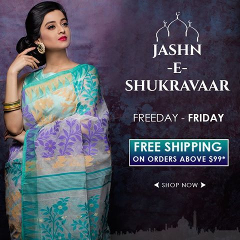 Announcing an offer that you just cant refuse!! Freeday Friday!! No shipping charge required. Hurry!! Valid only on FRIDAY from 0.00hours to 23.59hours. Log on to www.indiansilkhouseagencies.com. know more. #designersaris, #puresilksarees, #greensaree, #redsaree, #partywears, #weddingfunctions #eidcollectoin #Eidspecial #Ramjan #Eid2016 #onlineshopping #CashOnDelivery #eidcollection2016,#allsilks, #puresilkkanjivaram, #freshfashion, #designersaris, #puresilksarees, #freeshippingoffer…