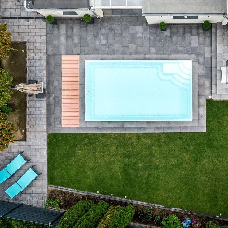 Pools sind unser Leben 😍 dieses ist ein GFK-Becken mit den Maßen 6,5×3,8×1,5…