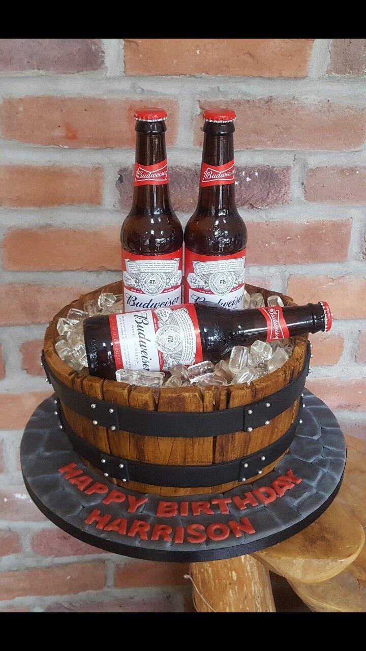 25 Best Ideas About Budweiser Cake On Pinterest Beer