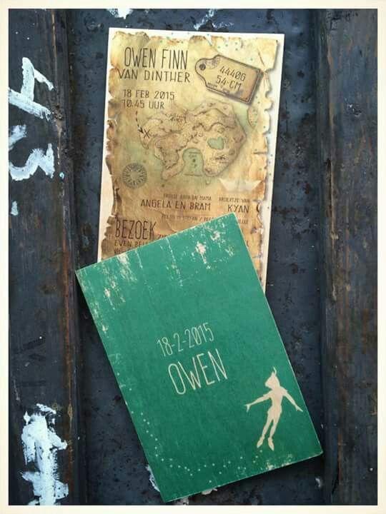 Super tevreden met het houten geboortekaartje thema Peter Pan