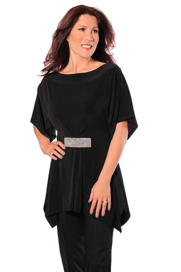 Our Reversible Tunic is a great piece to add to your wardrobe. It is extremely multi-purpose and so easy to pair with your jeans to dress up an outfit, or wear it with a dress trouser. Best part, you can wear it backwards!!!!