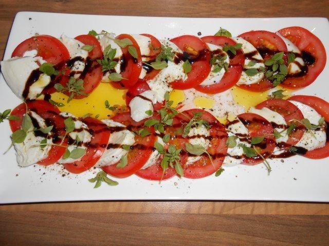 Tomate Mozzarella Platte Rezept Mit Bild Rezept Tomate Mozzarella Tomate Mozzarella Platte Mozzarella