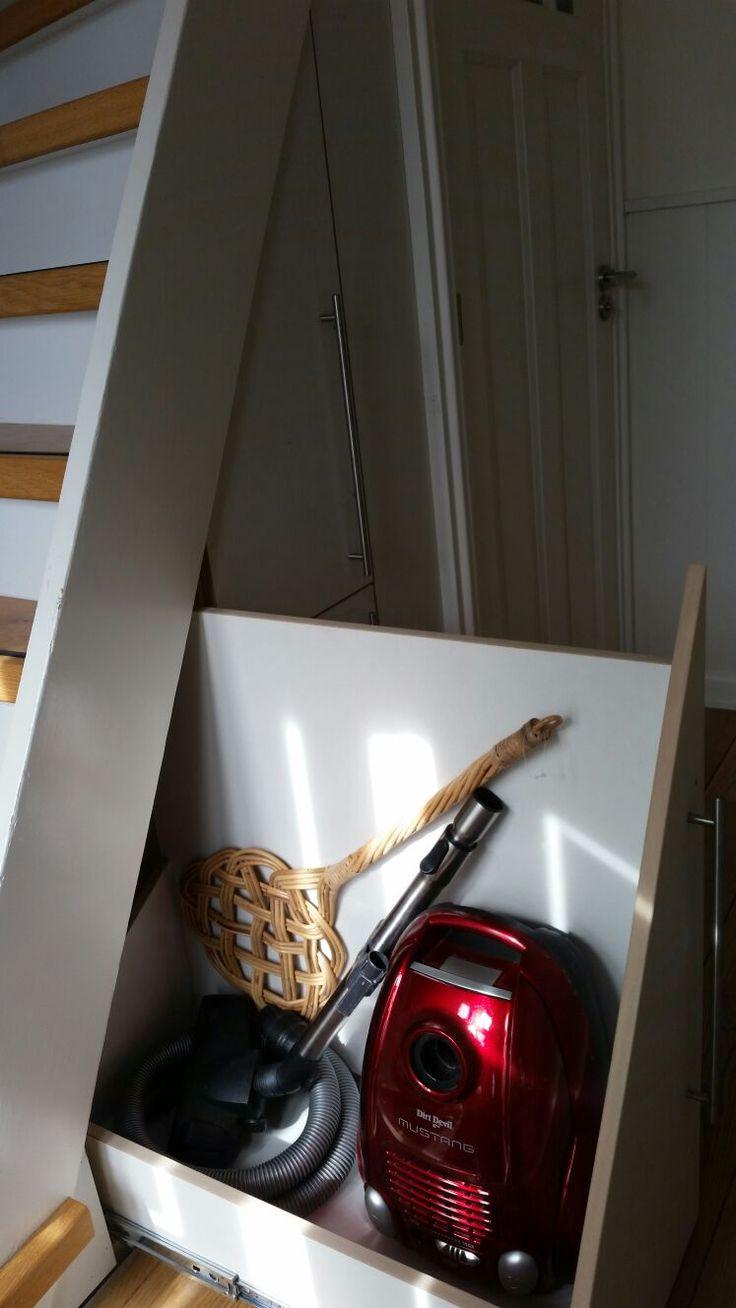 Trapkast voor stofzuiger