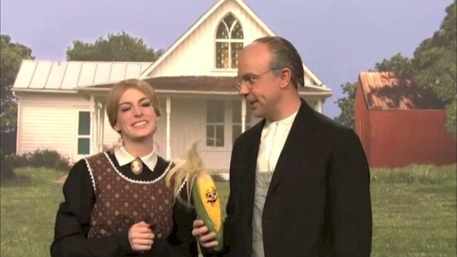 American Gothic Story by SNL by Tricia Fuglestad. This video is slightly edited to make it appropriate to show to my elementary art students. Originally aired on Saturday Night Live, November 10, 2012.