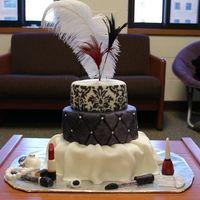 hollywood glam cake | Old Hollywood Glam Cake!