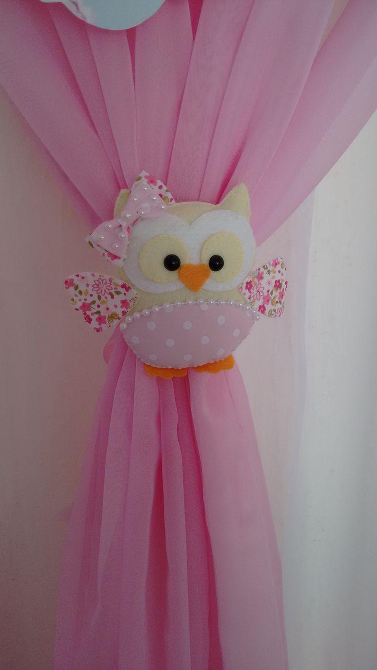 Mais de 1000 ideias sobre prendedor de cortina no - Cortinas para bebes decoracion ...