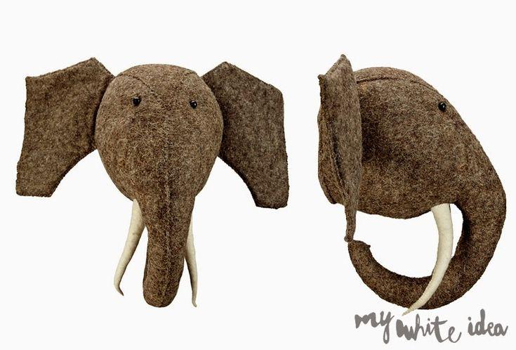 ELEPHANT HEAD DIY | MY WHITE IDEA DIY
