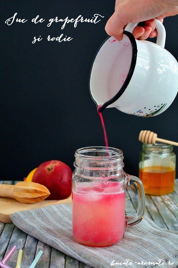 Suc de grapefruit şi rodie - Bucate Aromate