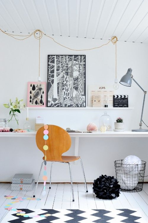 The 106 best Home Office, Studio, Work Space images on Pinterest ...