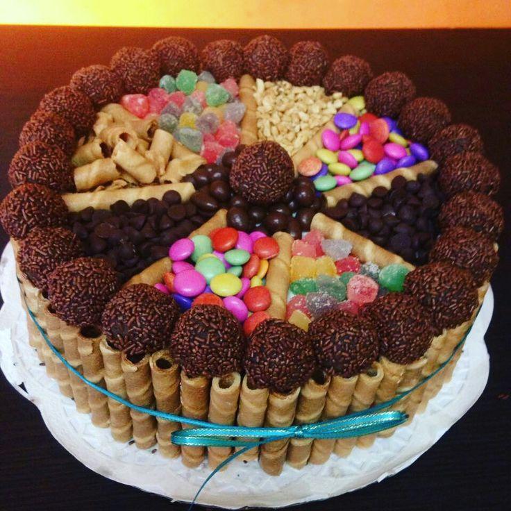 Torta confites candys