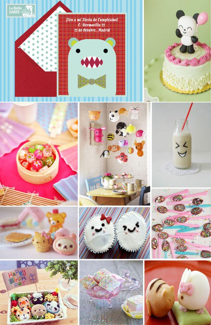 Invitaciones infantiles invitaciones para fiestas infantiles cumpleanos japones cumpleanos - Regalos para fiestas de cumpleanos infantiles ...