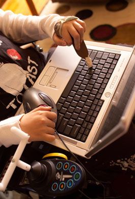 lots of ideas for assistive technology and how to implement them