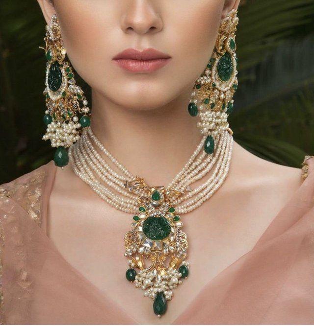 Moti Kundan Royal Jewellary Jewelry Necklaces