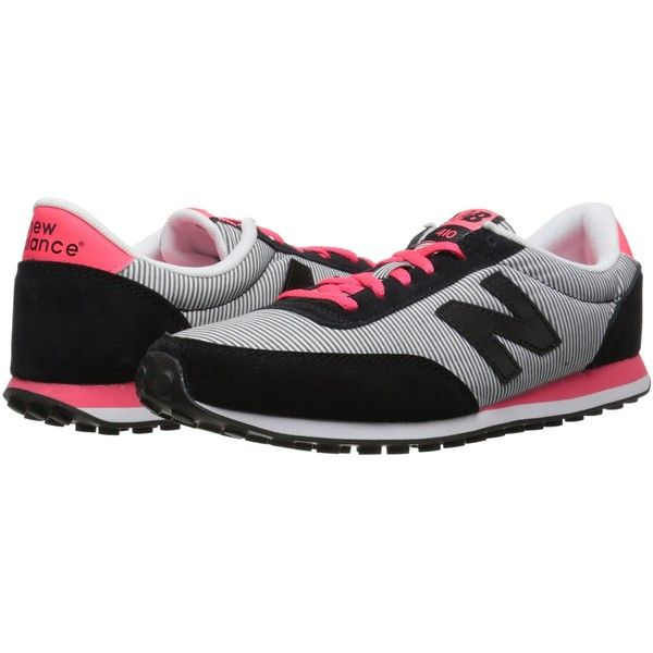 New Balance WL410 Women's Running Shoes, Black ($49) ❤ liked on Polyvore featuring shoes, athletic shoes, black, black athletic shoes, black dressy shoes, new balance shoes, running shoes and breathable running shoes