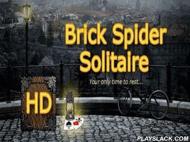 """Brick Spider Solitaire  Android Game - playslack.com , The game Brick Spider Solitaire HD for android, will please all justices of board games.  This is an exclusive version of a solitaire """"Spider"""".  You should spread out at once several platforms from several tables at the same time.  It will question more time and ability, but it is worthy it.  First of all it will be beautiful to players who spent a lot of time competing  the modular version, and want to compete the changed  game already…"""