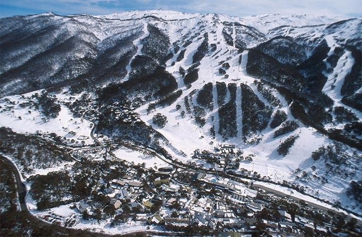 Thredbo in the winter time