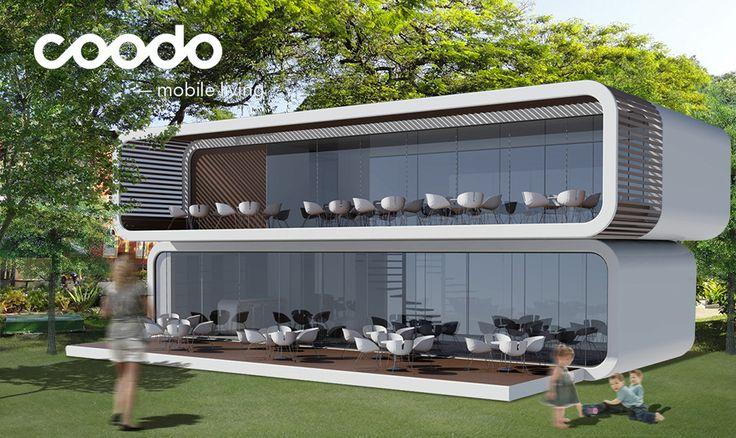 Coodo mobile living coodo renderings pinterest mobiles for Mobile living