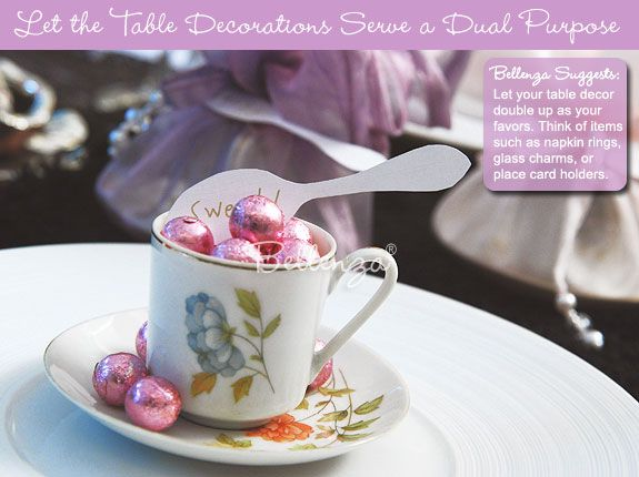 oh so cute and pretty bridal shower favor ideas tea party