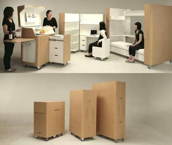 Atelier OPA CO.  (Foldable furnishings)