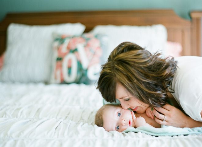 Lifestyle newborn photography by gina zeidler