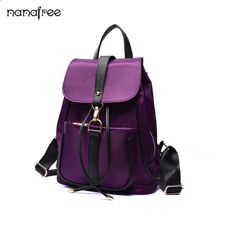 Nanafree Fashion Women Backpacks High Quality PU Leather Mochila Escolar  School Bags For Teenagers Girls Backpacks bba5400ef7c35