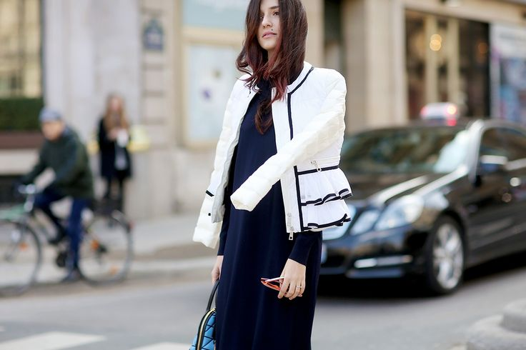 """Italian it girl and designer Eleonora Carisi interprets Fay's iconic Down Jacket for Double Life project. """"My Double Life: a style mosaic, making sure you never go unnoticed"""" - Eleonora Carisi Find out more at: http://www.fay.com/double_life"""